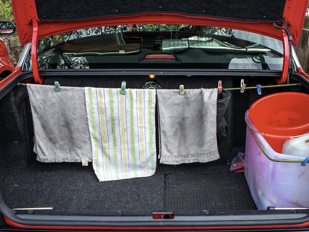 傳統豐田的士車尾箱一覽